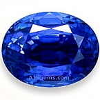 Unheated Blue Sapphire - 7.52 carats