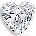 Heart Cut Diamond - 0.61 carat