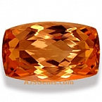 Imperial topaz - 5.51 carats