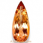 Imperial topaz - 4.29 Carats