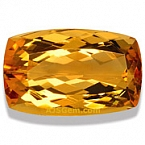 Imperial topaz - 8.01 carats