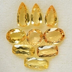 Imperial topaz - 10.37 carats