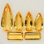 Imperial topaz - 17.87 carats