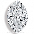 Marquise Cut Diamond - 0.45 carat
