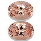 Morganite Matched Pair - 13.78 carats