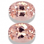Morganite Matched Pair - 10.15 carats