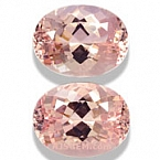 Morganite Matched Pair - 7.92 carats