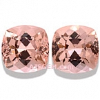 Morganite Matched Pair - 13.12 carats