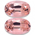 Morganite Matched Pair - 15.90 carats