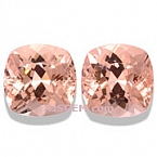 Morganite Matched Pair - 11.20 carats