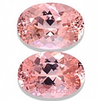 Morganite Matched Pair - 15.53 carats