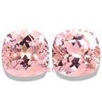 Morganite Matched Pair - 8.30 carats