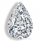 Pear Cut Diamond - 0.33 carat