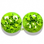 Matched Pair Peridot - 8.88 carats