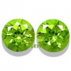 Matched Pair Peridot - 8.22 carats
