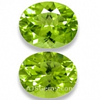 Peridot Matched Pair - 3.96 carats