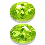 Peridot Matched Pair - 4.02 carats