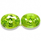 Peridot Matched Pair - 4.35 carats