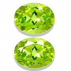 Peridot Matched Pair - 4.22 carats