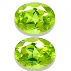 Peridot Matched Pair - 4.16 carats