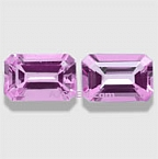 Pink Topaz Matched Pair - 1.14 carats