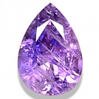 Pinkish-Purple Tanzanite - 5.20 carats
