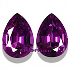Matched Pair Purple Garnet - 2.68 carats