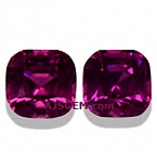 Matched Pair Purple Garnet - 1.76 carats