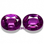 Matched Pair Purple Garnet - 2.31 carats