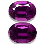 Royal Purple Garnet Matched Pair - 2.79 carats