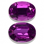 Royal Purple Garnet Matched Pair - 2.04 carats