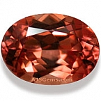 Honey/Red Zircon - 2.27 carats
