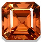 Honey/Red Zircon - 4.51 carats
