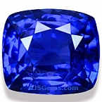 Unheated Blue Sapphire - 5.06 carats