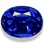 Unheated Blue Sapphire - 1.37 carats