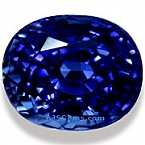 Unheated Blue Sapphire - 2.10 carats