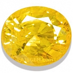 Yellow Sapphire - 4.50 carats
