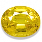 Yellow Sapphire - 1.62 carats