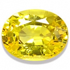 Yellow Sapphire - 1.41 carats
