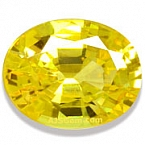 Yellow Sapphire - 2.08 carats
