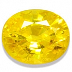 Yellow Sapphire - 1.03 carats