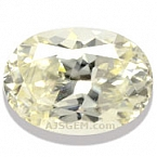 Light Yellow Zircon - 5.75 carats