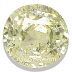 Light Yellow Zircon - 3.09 carats