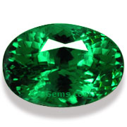 3.13 ct Tsavorite Garnet from East Africa