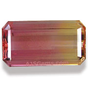 4.01 ct Bi-Color Imperial Topaz, Brazil