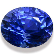 2.16 ct Unheated Blue Sapphire from Ceylon