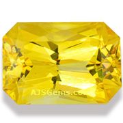 16.16 ct Unheated Yellow Sapphire, Sri Lanka