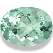 Blue Green Aquamarine Mozambique 9.5 cts