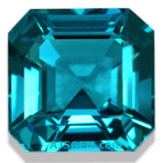 3.03 ct Vivid Blue Tourmaline from Namibia
