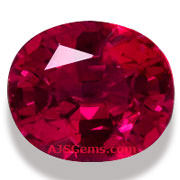 Burma Ruby Unheated 2.61 cts